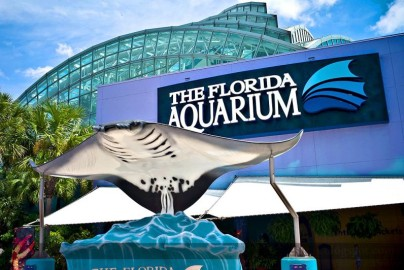 The Florida Aquarium sign