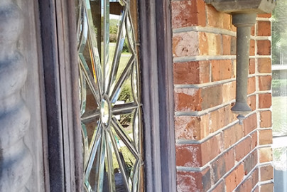 Glass Entryway