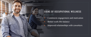 signs of occupational wellness