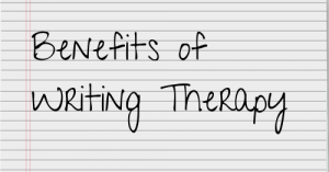 benefits of writing therapy