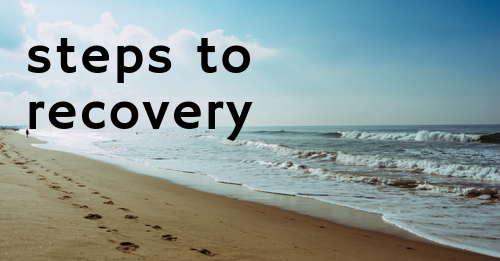 steps to recovery