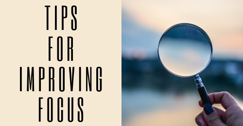 tips for improving focus