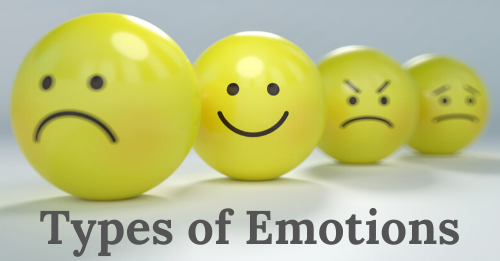 types of emotions