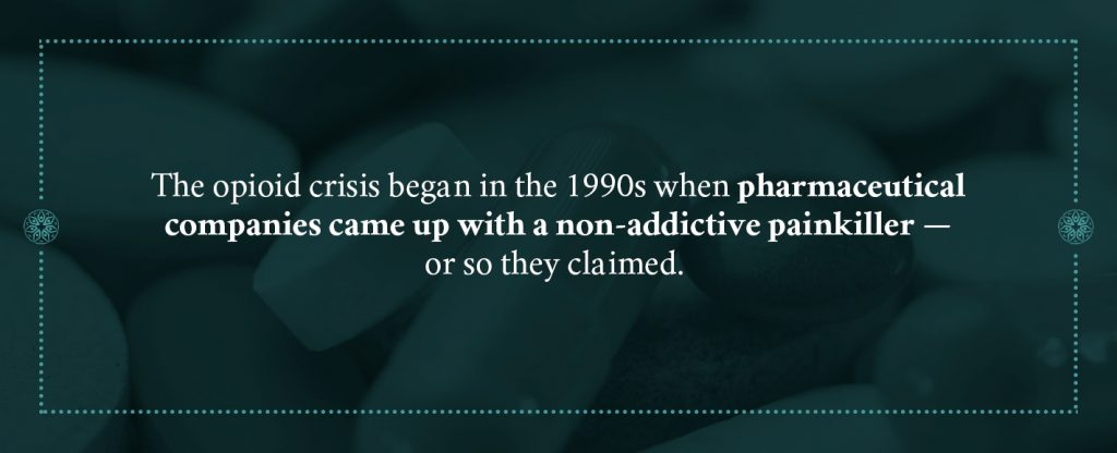 history of the opioid epidemic