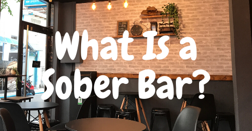"""what is a sober bar"" graphic"